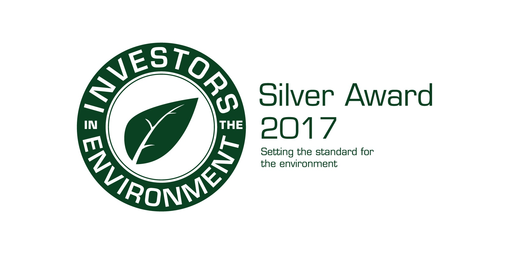 Investors in environment Silver Award 2017C (002)