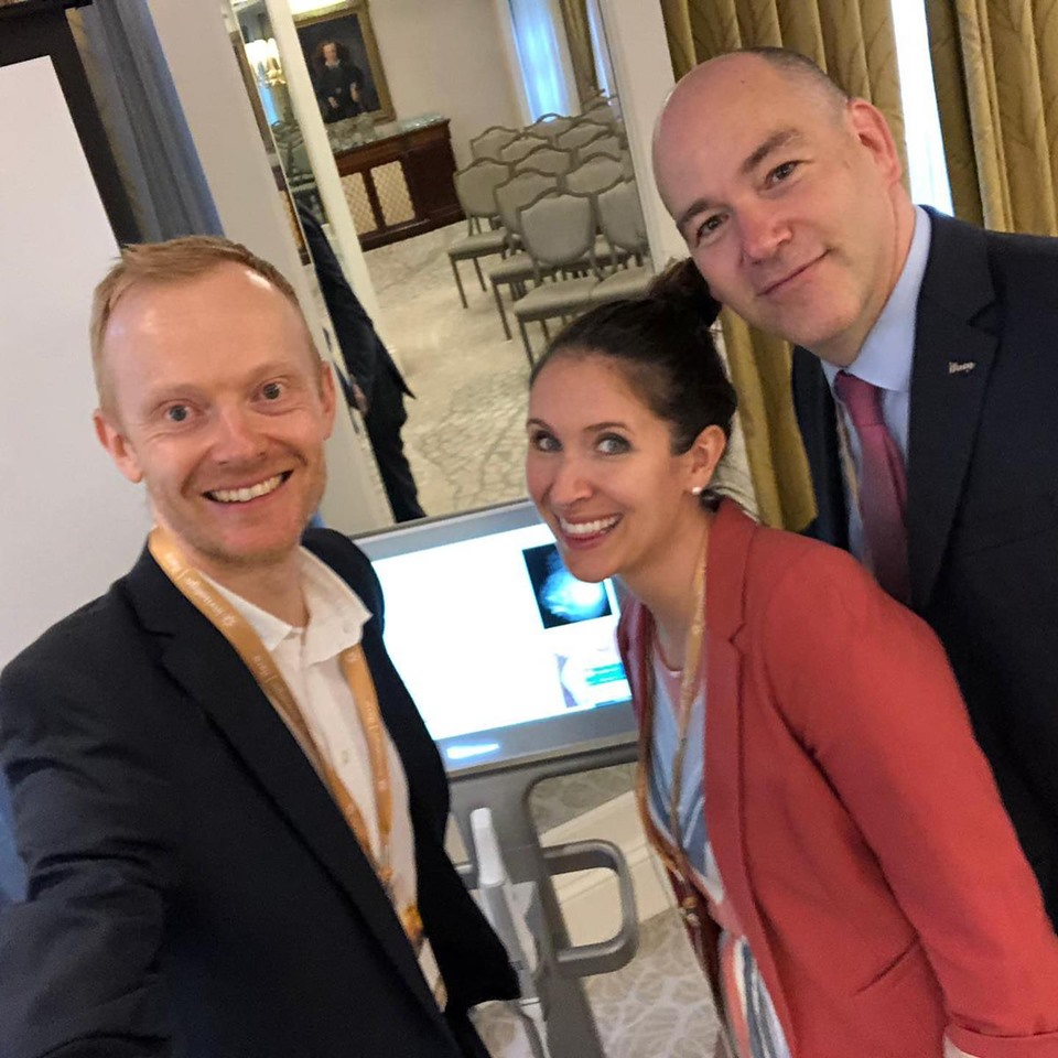 Guy presents at the Invisalign Global Symposium - Orthodontic