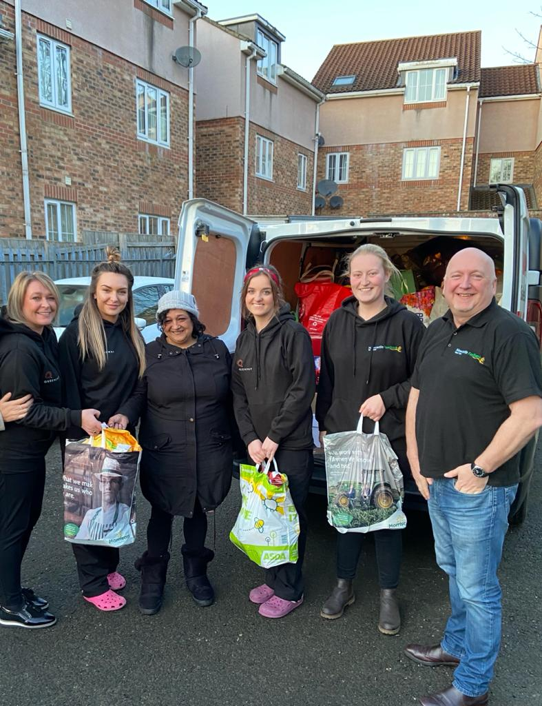 Queensway Swap Giving Cards For Food With Billingham And