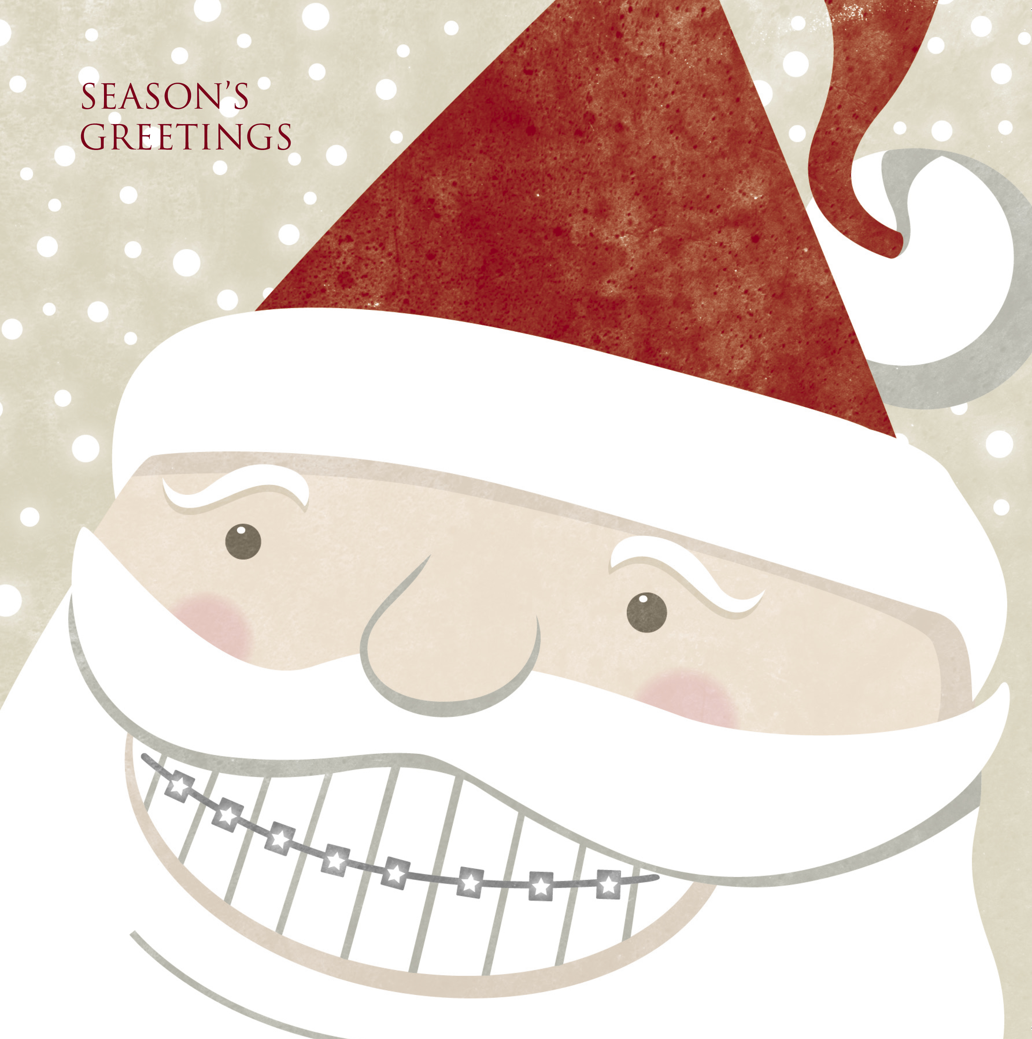 ORTHO Santa Card